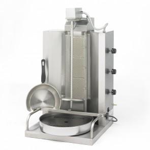 Gyros asador kebab a gas Sammic AG-20