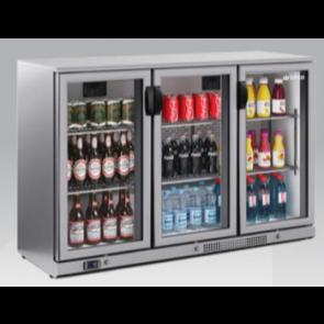 Expositor refrigerado horizontal INOX Infrico ERV-35 II