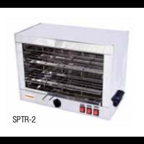 Tostadora industrial horizontal doble Savemah SPTR 2 T