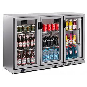 Expositor refrigerado horizontal INOX Infrico ERV-35 II SH