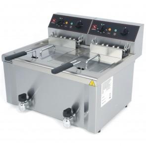 Freidora eléctrica Sammic FE-8+8 8+8 litros