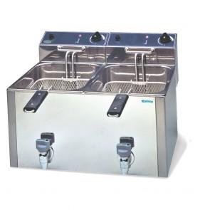 Freidora electrica Infrico FR1010L G 10+10 Litros