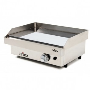Plancha a gas de acero 15 mm baño cromo ARILEX 60PGC