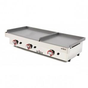 Plancha a gas de acero 6 mm ARILEX 6060PGLL